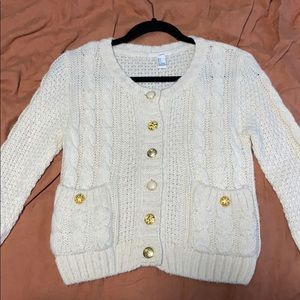 Chunky Knitted Button Cardigan